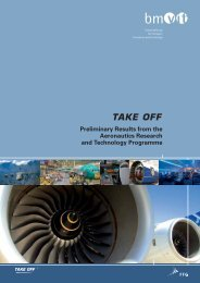 Take off - Preliminary Results form the Aeronautics Research and ...