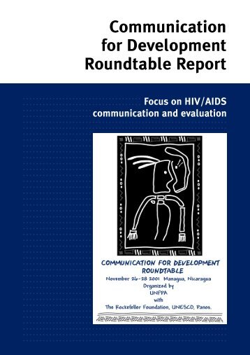 Focus on HIV/AIDS communication and evaluation
