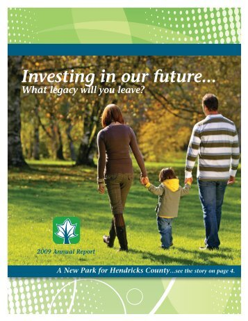 Investing in our future... - Hendricks County Community Foundation
