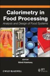 Calorimetry in Food Processing: Analysis and Design of ... - Quomodo