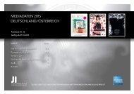 mediadaten 2013 deutschland/österreich - Medien Service Meins