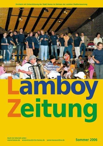 Sommer 2006 (pdf, 955 KB) - Evangelische Kreuzkirche Hanau