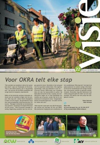 Voor OKRA telt elke stap - ACV