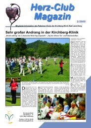 Sehr großer Andrang in der Kirchberg-Klinik - Karl Heinz Bleß