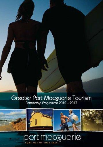 Greater Port Macquarie Tourism Partnership Prospectus 2012-2013