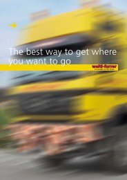 The best way to get where you want to go - Welti-Furrer