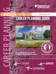 Virginia Tech, 2012-13 (pdf) - COLLEGE RECRUITMENT MEDIA