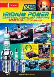 DENSO Iridium Power 4x SPARK PLUGS Autentico pezzo di ricambio OE Quality