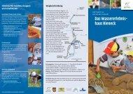 Wassererlebnishaus Rieneck - Naturpark Spessart