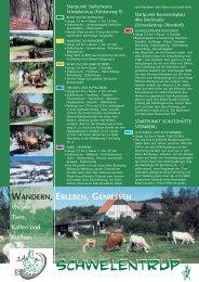 Schwelentrup - Bauernhof Pension Waldmühle