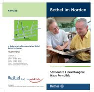 Flyer Haus Fernblick (PDF) - Bethel im Norden