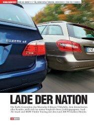 Audi A6 Avant 2.7 TDI, BMW 525d - Auto Motor und Sport