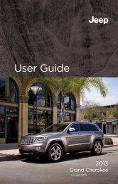 2013 Jeep Grand Cherokee User Guide