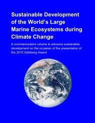 Sustainable Development of the World's Large Marine Ecosystems ...