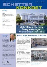 Nr. 32 - November 2012 [PDF] - Schetter GmbH