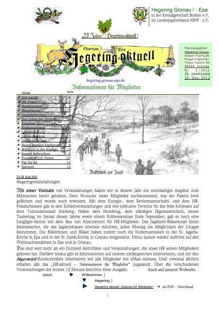 Informationen für Mitglieder - Landesjagdverband Nordrhein ...