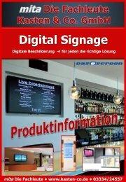 Digital Signage Bundle I - Kasten & Co. GmbH