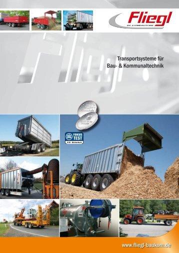 Transportsysteme für Bau- & Kommunaltechnik - Fliegl
