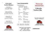 Motorrad- Intensivkurs Fahrschule Norbert Blanken