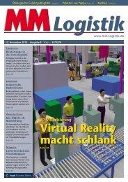 Virtual Reality macht schlank - MM Logistik - Vogel Business Media