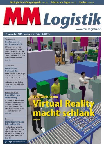 Virtual Reality macht schlank - MM Logistik - Vogel Business Media