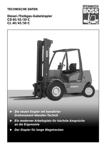 Trendig Diesel-/Treibgas- Gabelstapler - AM Gabelstapler Gmbh IK19
