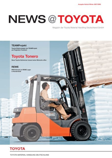 News@Toyota Magazin Herbst / Winter 2007