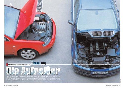 Audi S4 gegen BMW Alpina B3 S VERGLEICH - BMW Style TV