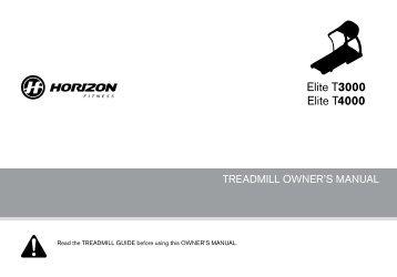 Horizon t4000 premier folding treadmill | in norwich, norfolk.