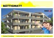 Auskunft / Vermietung - C. Vanoli AG, Immensee
