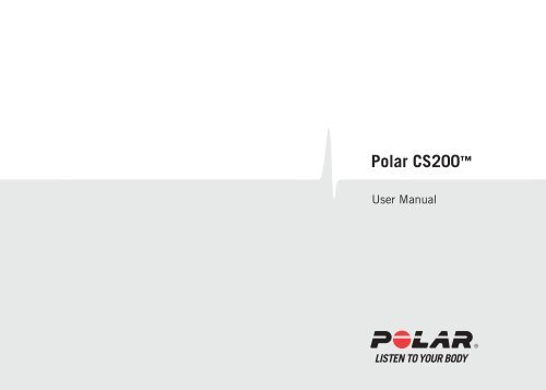 Polar cs200 user manual evans cycles.