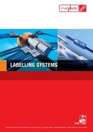 Terminal block labelling - Kablo Etiketi