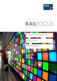 Ausgabe 07 - September 2009 - SMA Railway Technology GmbH