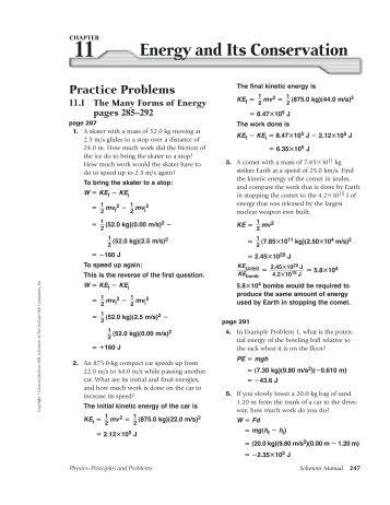 Understanding Physics instructor solution manual