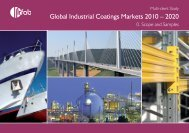 Global Industrial Coatings Markets 2010 – 2020 - The Paint ...