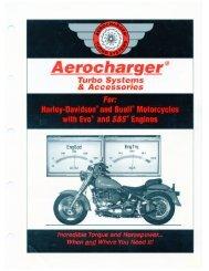 Aerodyne Aerocharger Sales Brochure(1998)
