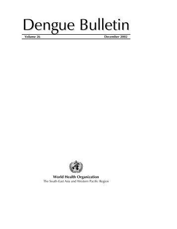 Dengue Bulletin
