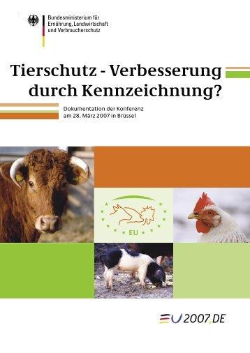 Tierschutz - Verbesserung durch Kennzeichnung? - Katalyse Institut ...