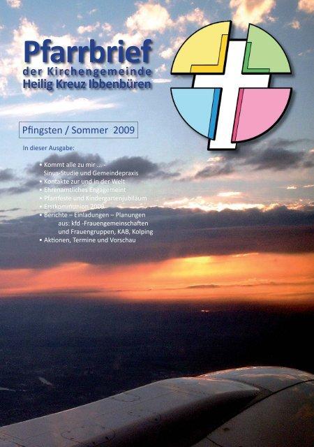 Pfingsten / Sommer 2009 - Katholische Kirchengemeinde Heilig Kreuz