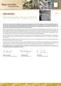 Spirituelle Tage - Schmallenberger Sauerland - Seite 2