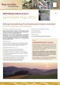 Spirituelle Tage - Schmallenberger Sauerland - Seite 3