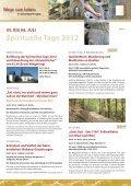 Spirituelle Tage - Schmallenberger Sauerland - Seite 6