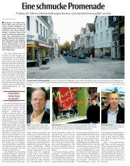 Eine schmucke Promenade - Stadt Steinheim
