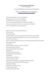 Liste der ErstunterzeichnerInnen des Positionspapieres - Cusanus.net
