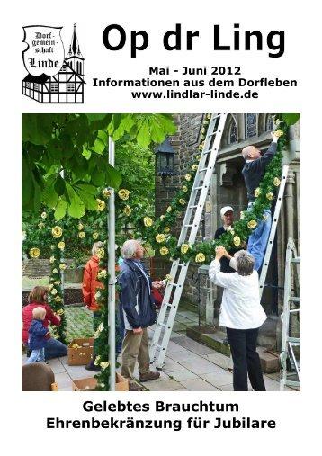 Mai - Bürgerverein Linde eV