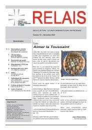 Relais No 72 - Eglise catholique en Pays de Vaud