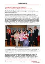 Pressemitteilung - Sparkasse Niederbayern-Mitte
