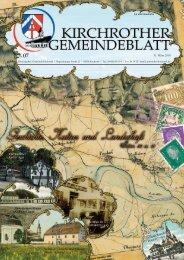 Nr. 07 (März 2010 - 36 Seiten) - Gemeinde Kirchroth