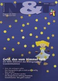 Geld, das vom Himmel fällt - BDKJ im Erzbistum Köln