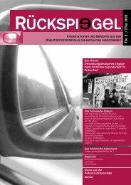 "Dokumentation und Materialien in: ""Rückspiegel"" Nr. 3/ Mai - BDKJ ..."